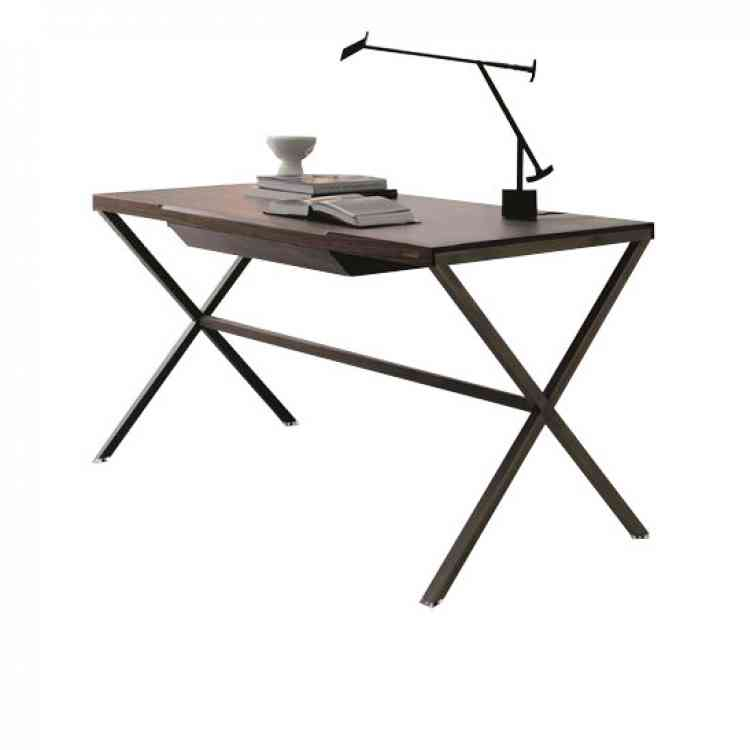 Stylo wood desk by Porada from Pure Interiors |