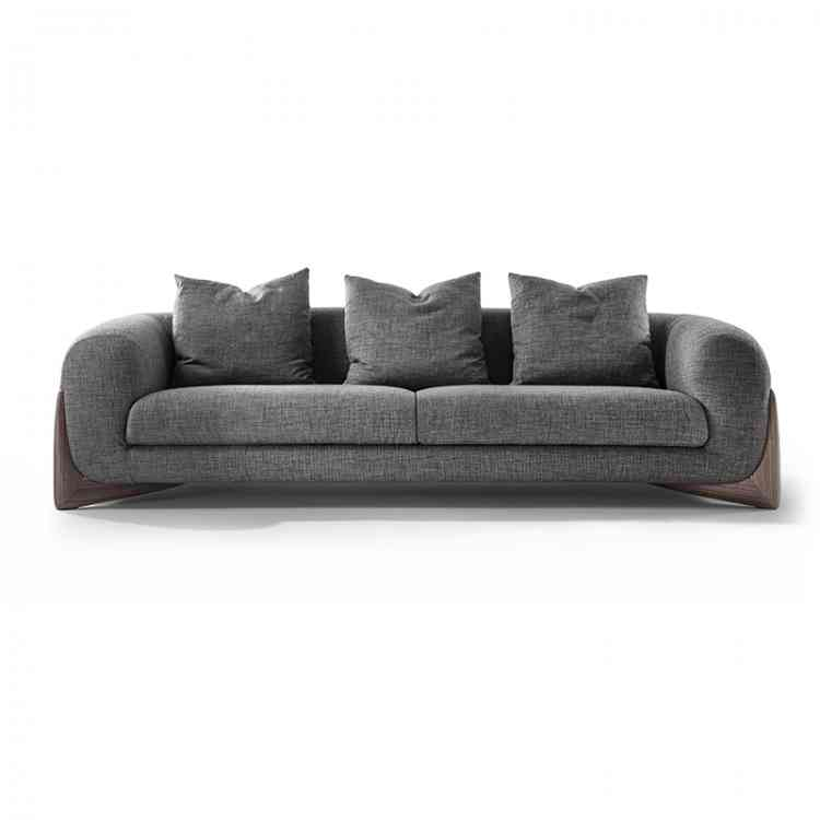 Softbay Sofa from Poradaat Pure Interiors