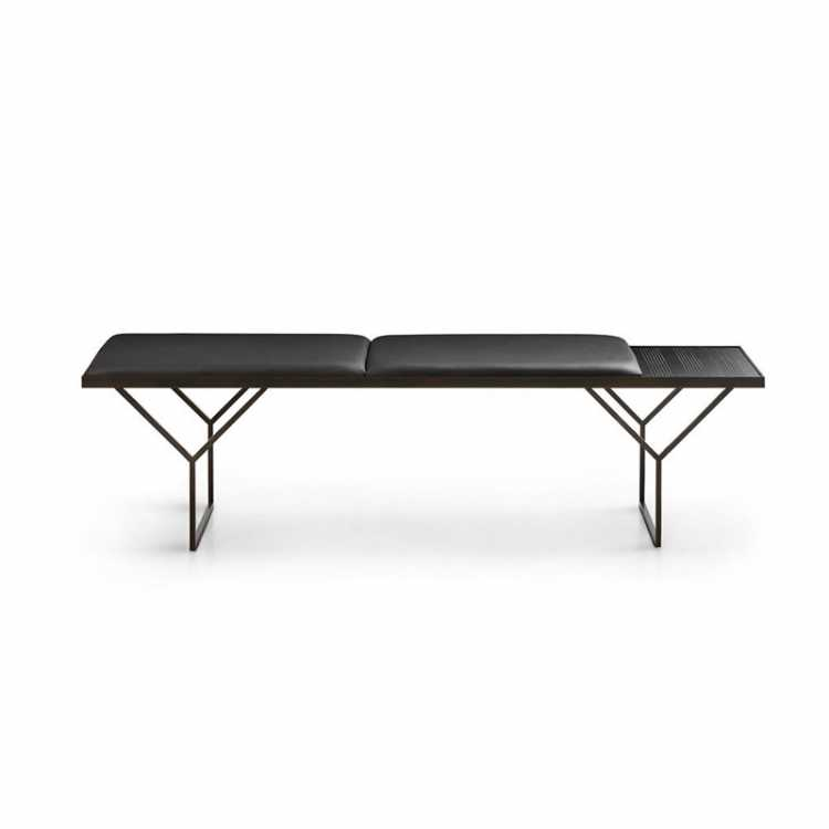 Uma Bench from LEMA at Pure Interiors
