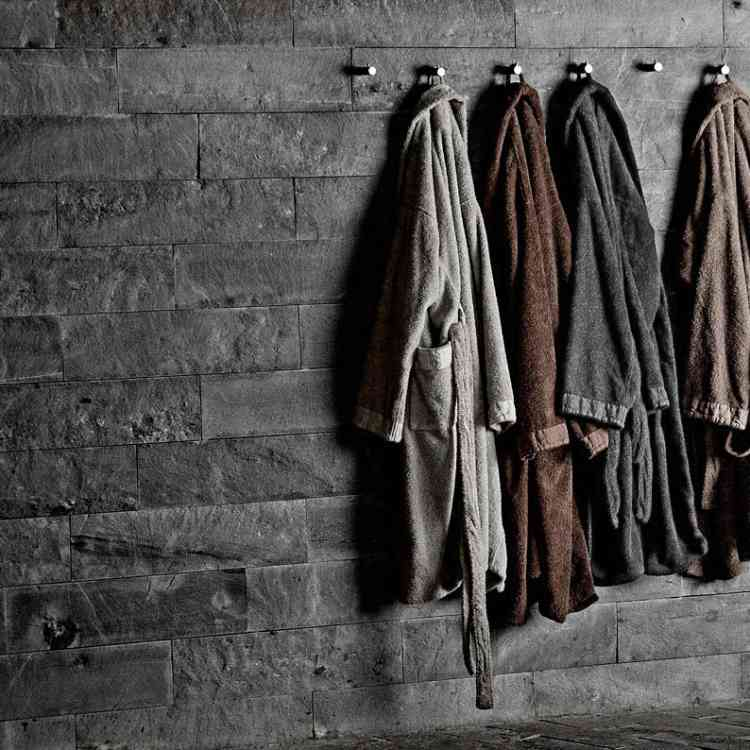 Bathrobes by Ivano Redaelli from Pure Interiors