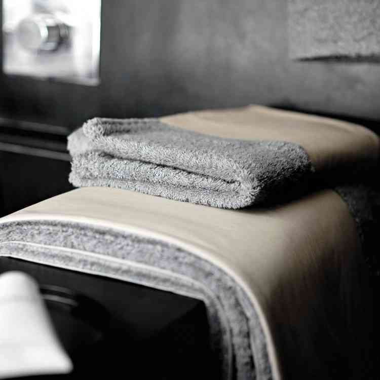 Towels by Ivano Redaelli from Pure Interiors