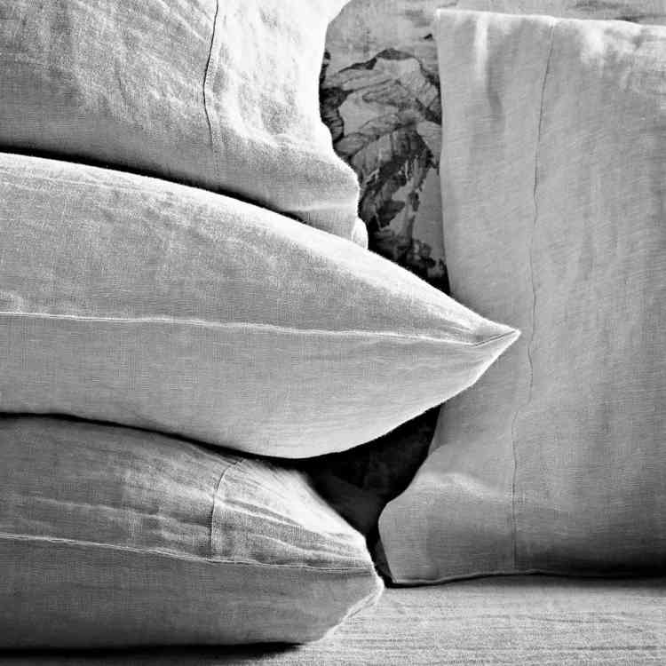 Linen Bedding by Ivano Redaelli from Pure Interiors