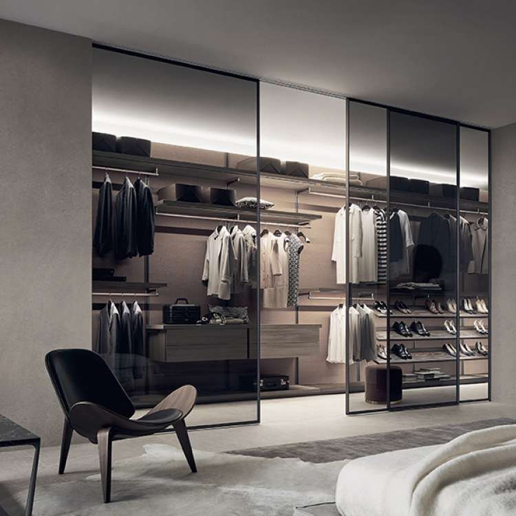 Dress Bold Wardrobe from Rimadesio at Pure Interiors