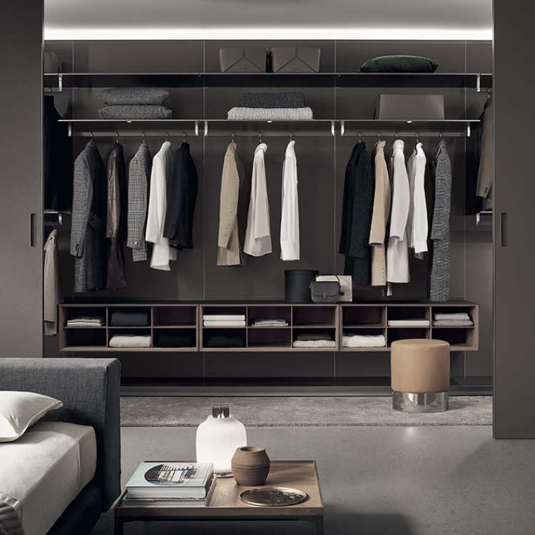 Abacus Wardrobe from Rimadesio at Pure Interiors
