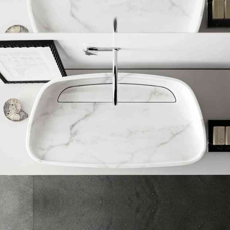 Inkstone Wash-basin by Neutra from Pure Interiors
