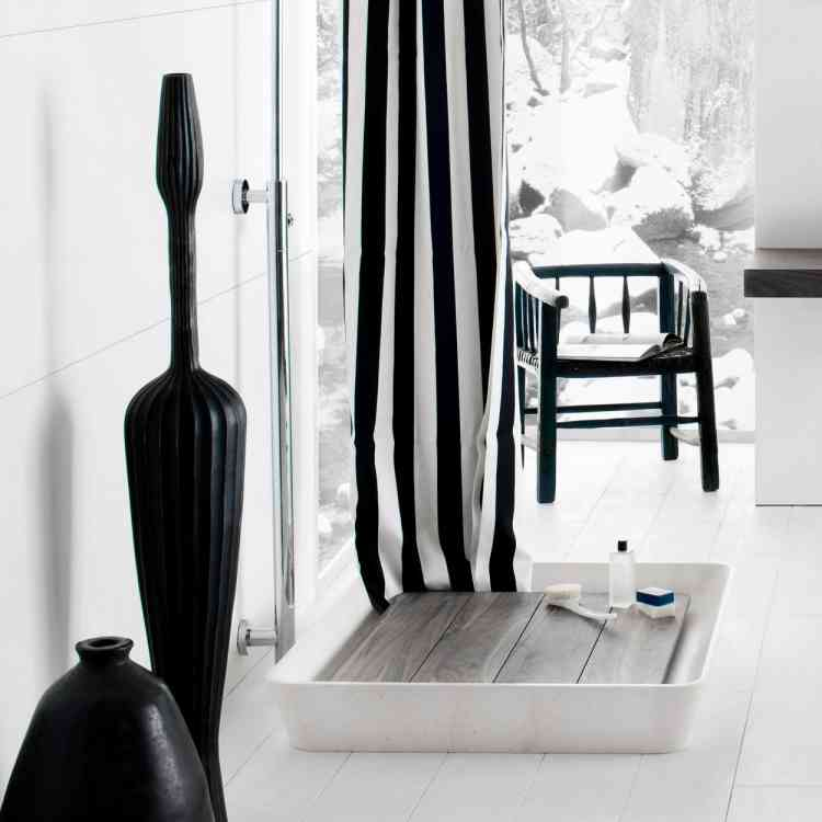 Duo Shower Tray by Neutra from Pure Interiors |