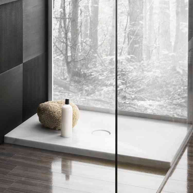Domino Shower Tray by Neutra from Pure Interiors |