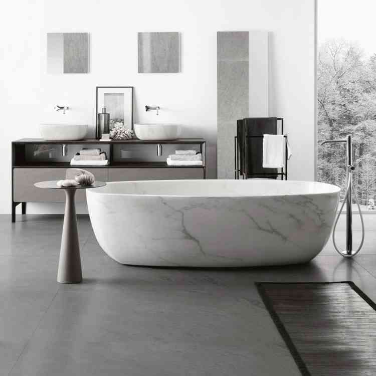 Inkstone Bathtub by Neutra from Pure Interiors |