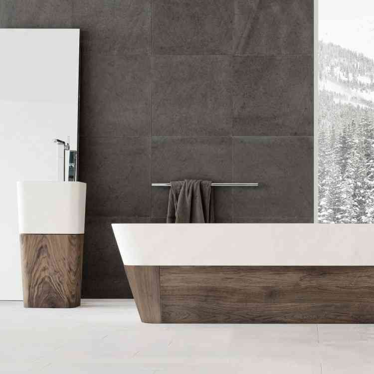 Duo Bathtub by Neutra from Pure Interiors |