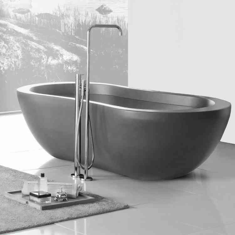 Convivium Bathtub by Neutra from Pure Interiors