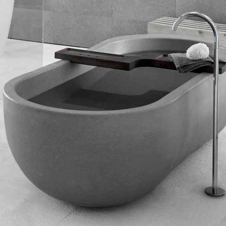 Alone Bathtub by Neutra from Pure Interiors |