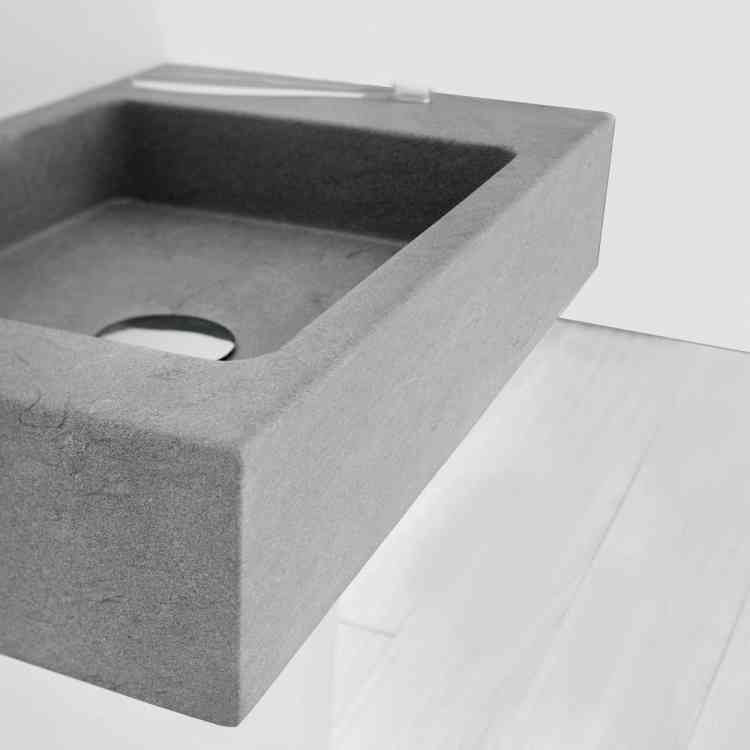 Square Wash-basin by Neutra from Pure Interiors |
