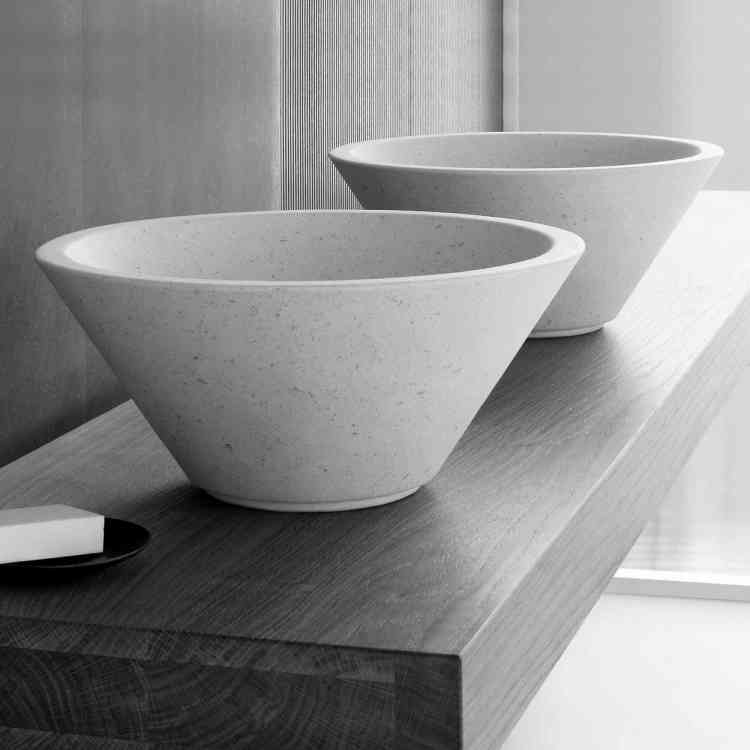 Flute Wash-basin by Neutra from Pure Interiors |