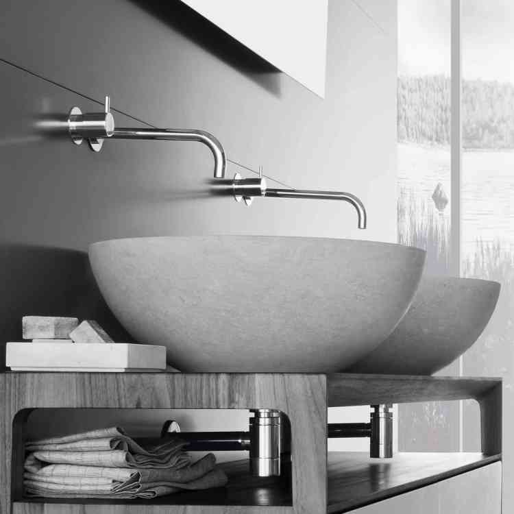 Egg Wash-basin by Neutra from Pure Interiors