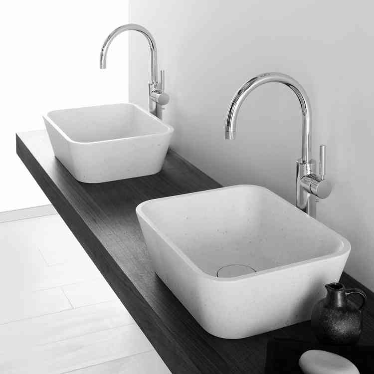 Duo Wash-basin by Neutra from Pure Interiors
