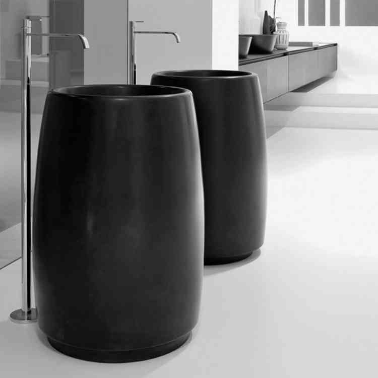 Barrel Wash-basin from Antonio Lupiat Pure Interiors