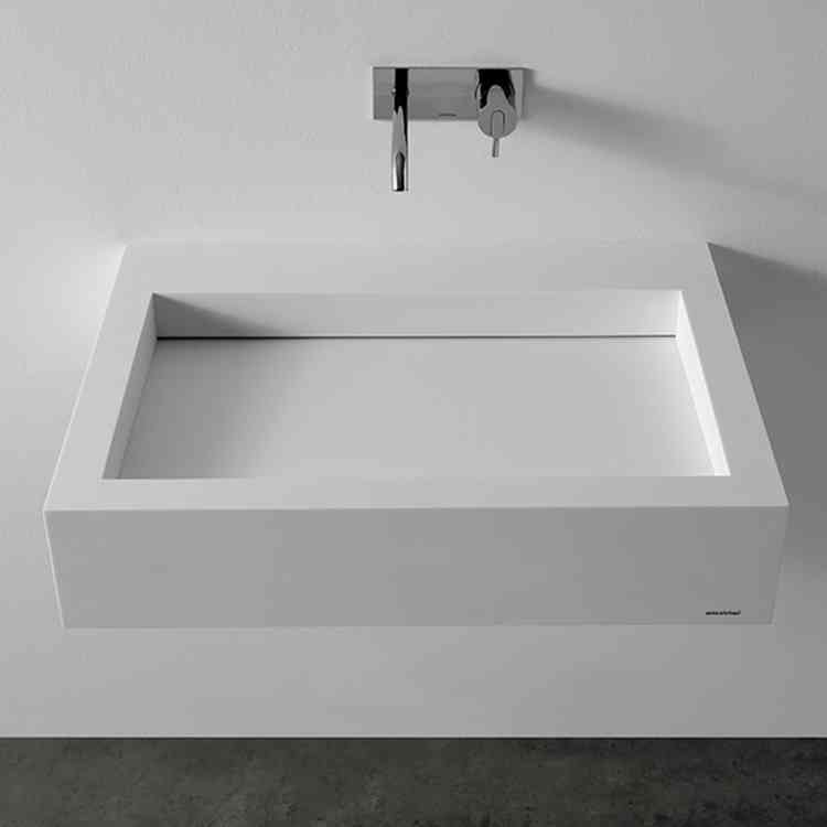 Slot Wash-basin by Antonio Lupi from Pure Interiors