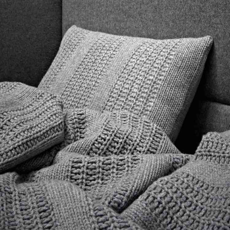 Wool Cushions by Ivano Redaelli from Pure Interiors |